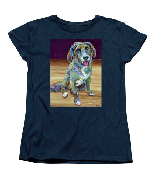 Women's T-Shirt (Standard Cut) featuring the painting Doc by Robert Phelps