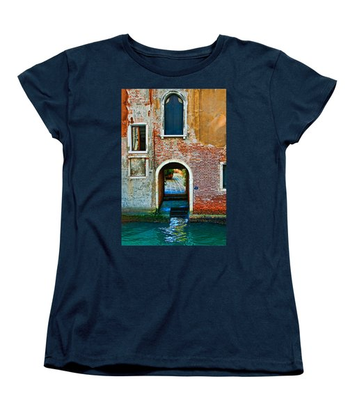 Dock And Windows Women's T-Shirt (Standard Cut) by Harry Spitz