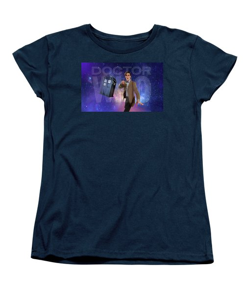 Doctor Who Women's T-Shirt (Standard Cut) by Pat Cook