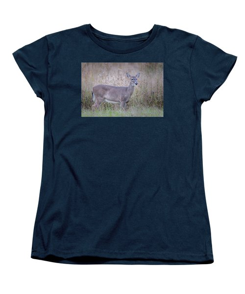 Women's T-Shirt (Standard Cut) featuring the photograph Doe by Tyson Smith
