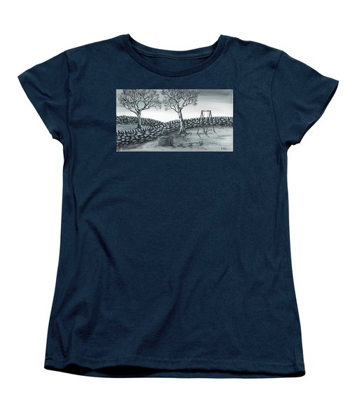 Dog House Women's T-Shirt (Standard Cut) by Kenneth Clarke