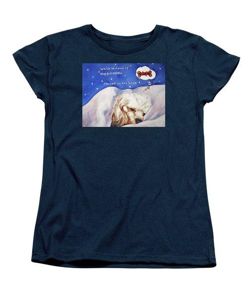 Doggie Dreams Women's T-Shirt (Standard Cut)