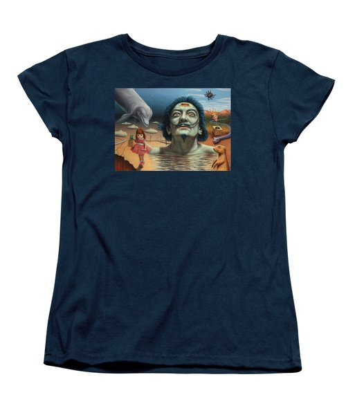 Dolly In Dali-land Women's T-Shirt (Standard Cut) by James W Johnson