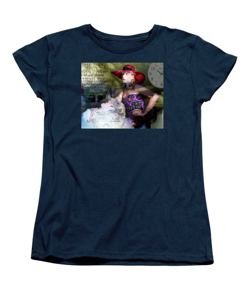 Domestic Considerations Kronos' Daughter Women's T-Shirt (Standard Cut) by Ann Tracy