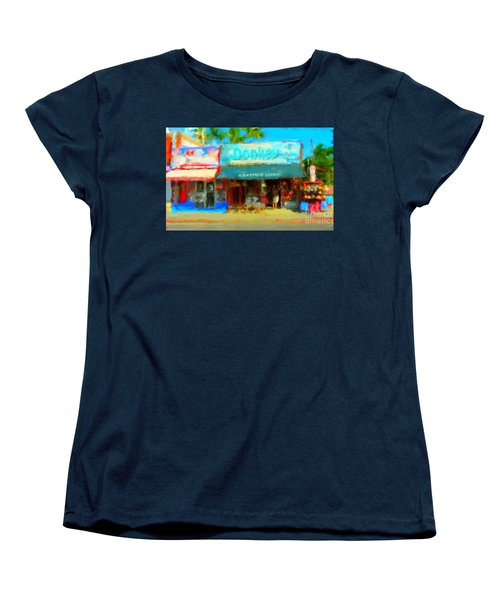 Donkey Leather Shop Women's T-Shirt (Standard Cut) by Gerhardt Isringhaus
