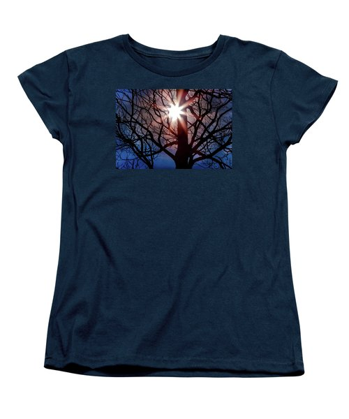 Don't Lose Sight Of It All Women's T-Shirt (Standard Cut) by Karen Wiles