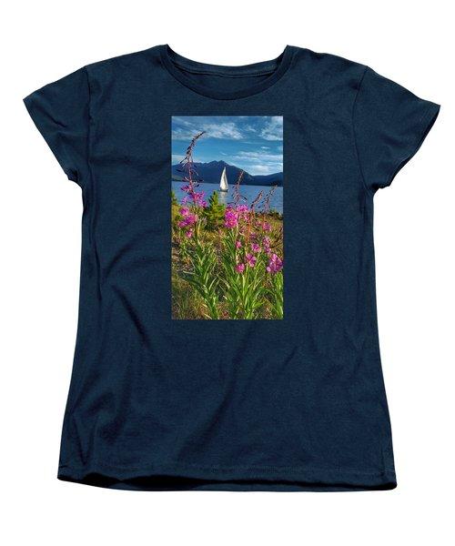 Don't Rush A Good Thing Women's T-Shirt (Standard Cut) by Fiona Kennard