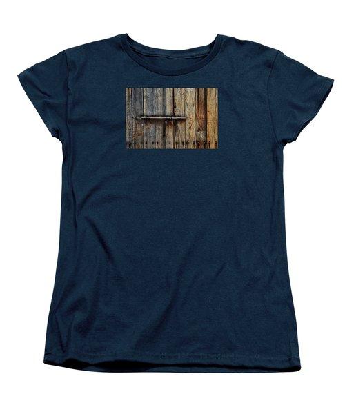 Door Lock Women's T-Shirt (Standard Cut)