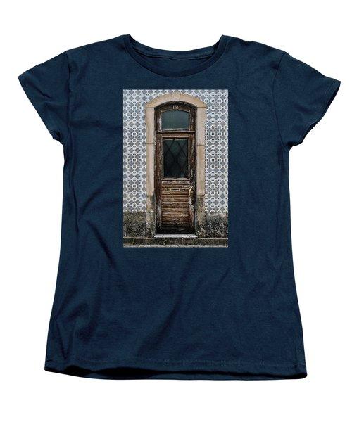 Women's T-Shirt (Standard Cut) featuring the photograph Door No 151 by Marco Oliveira