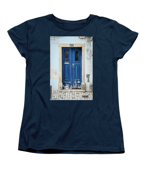 Door No 67 Women's T-Shirt (Standard Cut) by Marco Oliveira