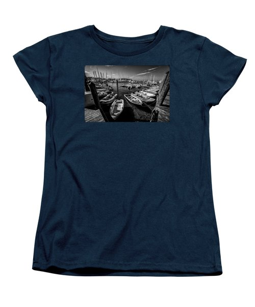 Dory Dock Women's T-Shirt (Standard Cut) by Kevin Cable