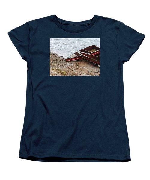 Dos Barcos Women's T-Shirt (Standard Cut) by Kathy McClure