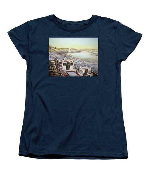 Down By The Docks Women's T-Shirt (Standard Cut) by Marty Garland