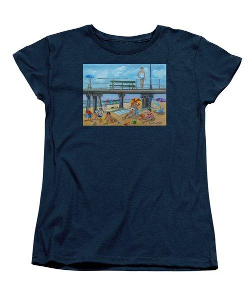 Down By The Seashore In Ocean Grove, N.j. Women's T-Shirt (Standard Cut)
