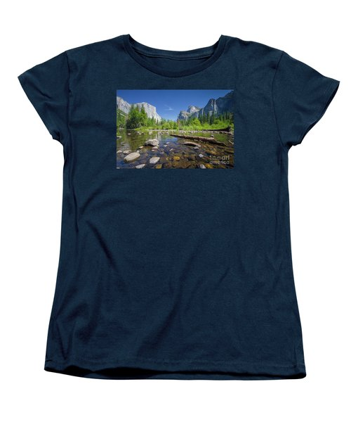 Down In The Valley Women's T-Shirt (Standard Cut) by JR Photography