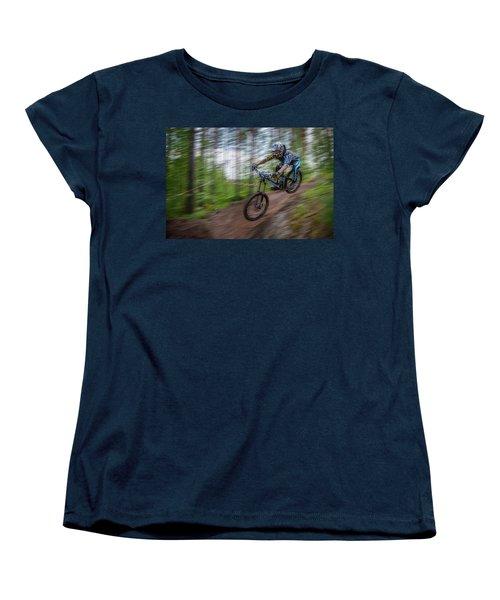 Downhill Race Women's T-Shirt (Standard Cut)