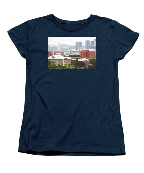 Women's T-Shirt (Standard Cut) featuring the photograph Downtown Birmingham - The Magic City by Shelby Young