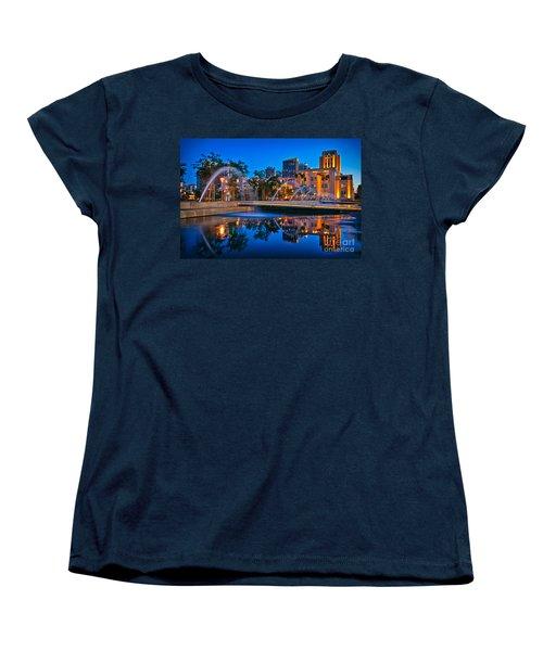 Downtown San Diego Waterfront Park Women's T-Shirt (Standard Cut) by Sam Antonio Photography