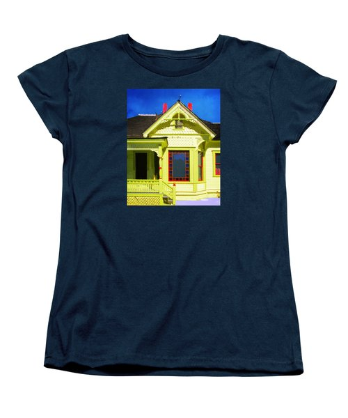 Women's T-Shirt (Standard Cut) featuring the photograph Dr. Clark's House 2 by Timothy Bulone