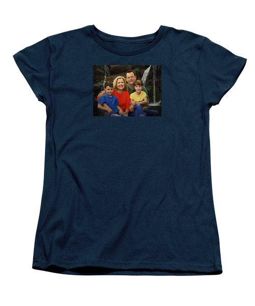 Dr. Devon Ballard And Family Women's T-Shirt (Standard Cut) by Glenn Beasley