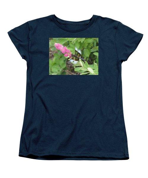 Draggin The Line Women's T-Shirt (Standard Cut) by Marie Neder