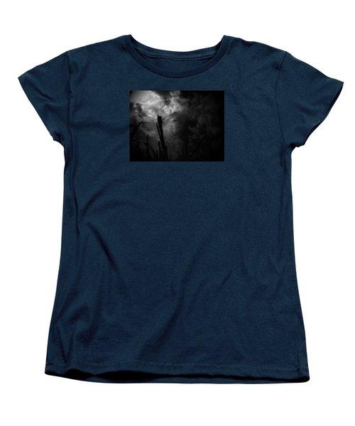 Dragon Noir Women's T-Shirt (Standard Cut) by Tim Good