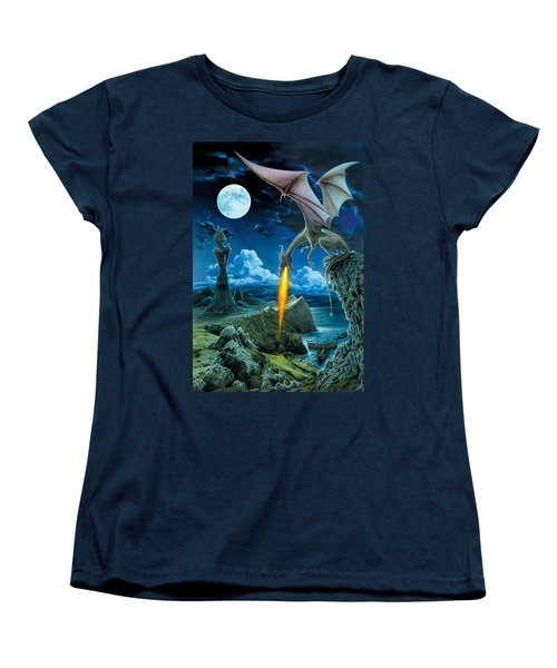 Dragon Spit Women's T-Shirt (Standard Cut) by The Dragon Chronicles - Robin Ko