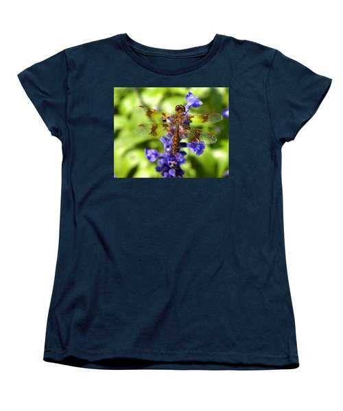 Women's T-Shirt (Standard Cut) featuring the photograph Dragonfly by Sandi OReilly