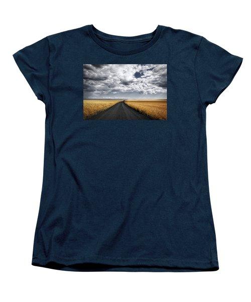 Drama On The Horse Heaven Hill Women's T-Shirt (Standard Cut) by Lynn Hopwood