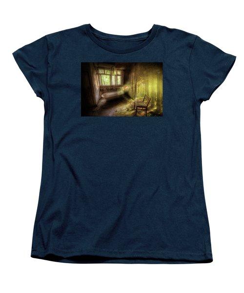 Dream Bathtime Women's T-Shirt (Standard Cut) by Nathan Wright