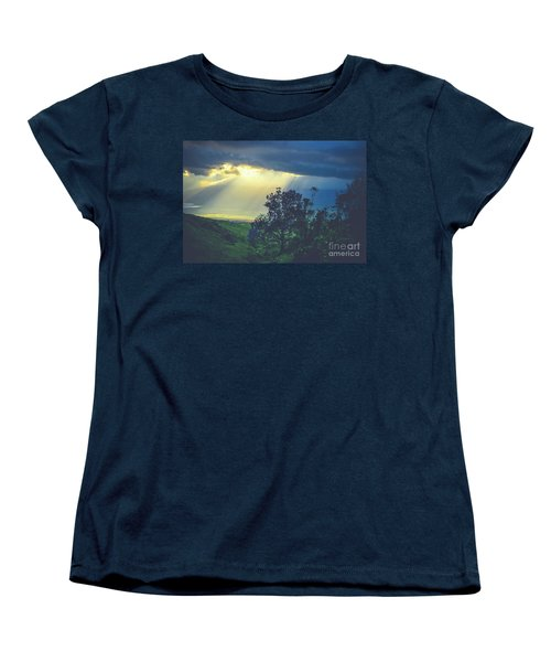 Women's T-Shirt (Standard Cut) featuring the photograph Dream Of Mortal Bliss by Sharon Mau