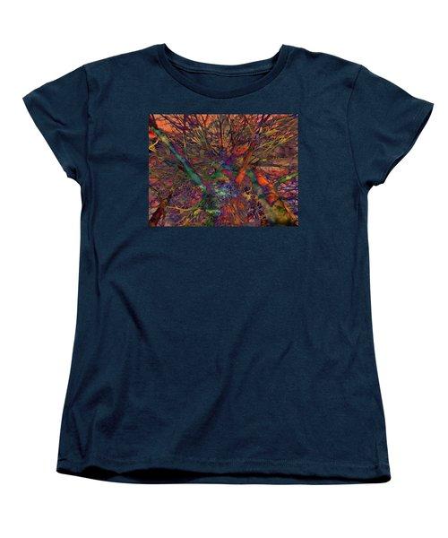 Women's T-Shirt (Standard Cut) featuring the digital art Dreamers by Robert Orinski