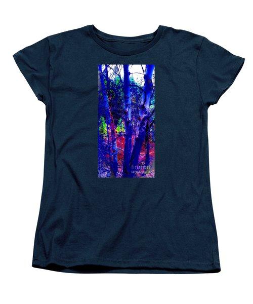 Dreaming Aspens Women's T-Shirt (Standard Cut) by Jennifer Lake