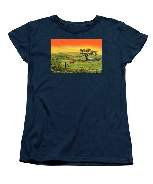 Women's T-Shirt (Standard Cut) featuring the photograph Dreamland by Charuhas Images