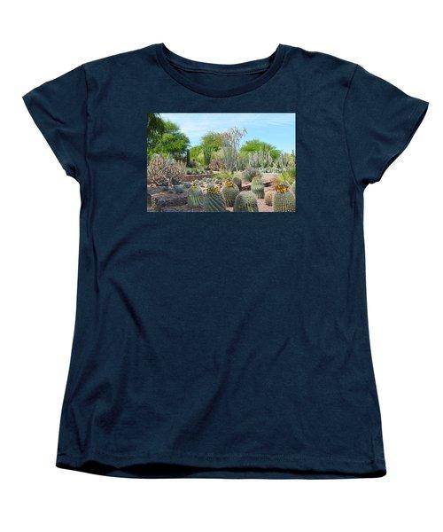 Dreamy Desert Cactus Women's T-Shirt (Standard Cut) by Aimee L Maher Photography and Art Visit ALMGallerydotcom
