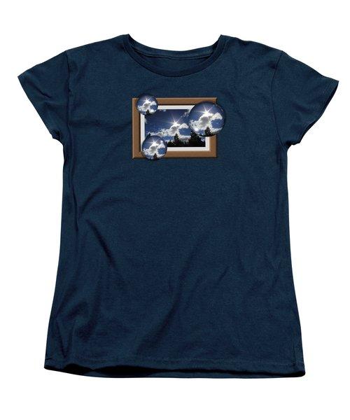 Women's T-Shirt (Standard Cut) featuring the photograph Drifting Away by Shane Bechler