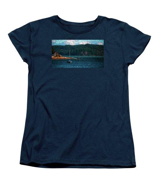 Drifting Women's T-Shirt (Standard Cut) by Timothy Hack