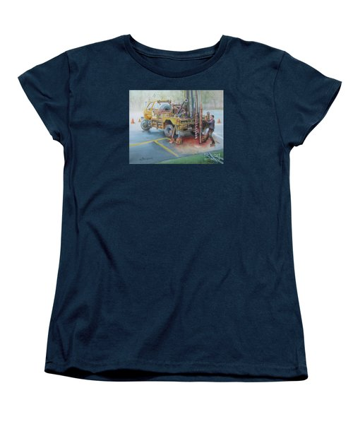 Drill,drill,drill Women's T-Shirt (Standard Cut) by Oz Freedgood