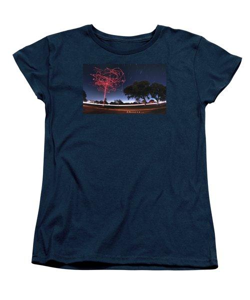 Drone Tree Women's T-Shirt (Standard Cut) by Andrew Nourse