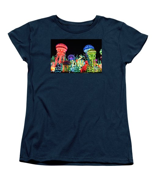 Dubai - Garden Glow Women's T-Shirt (Standard Cut) by Hanza Turgul