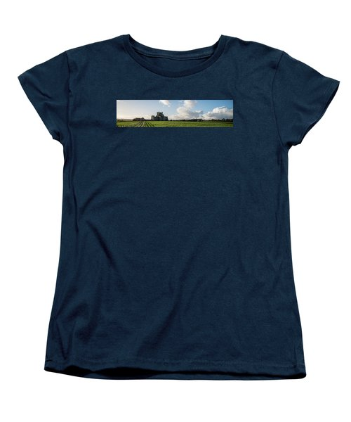 Dunbrody Abbey Women's T-Shirt (Standard Cut) by Martina Fagan