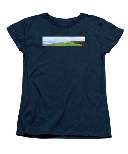 Dune At Fort Stevens Women's T-Shirt (Standard Cut) by Angi Parks