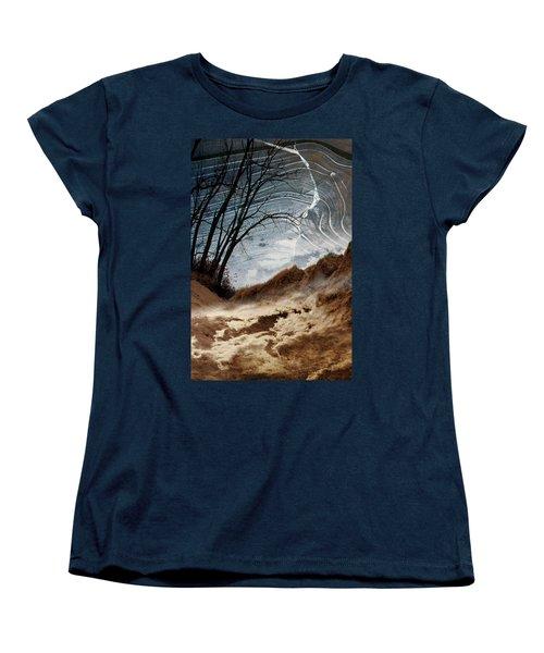 Dunes Women's T-Shirt (Standard Cut) by Joan Ladendorf
