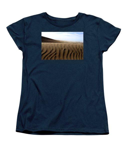 Dunes Of Alaska Women's T-Shirt (Standard Cut) by Anthony Jones