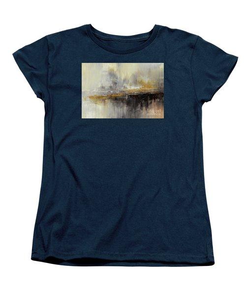 Women's T-Shirt (Standard Cut) featuring the painting Dusty Mirage by Tatiana Iliina