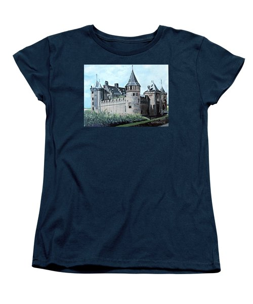 Dutch Castle In Muiden Women's T-Shirt (Standard Cut)