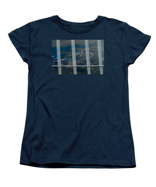 Duxford Dakota Daydream Women's T-Shirt (Standard Cut) by Gary Eason