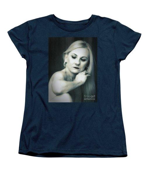 Dyan  ... Women's T-Shirt (Standard Cut) by Chuck Caramella