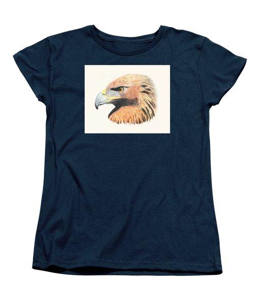 Eagle Eye  No Border Women's T-Shirt (Standard Cut)