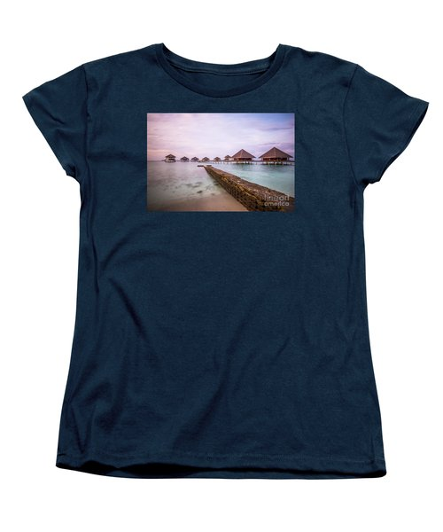 Women's T-Shirt (Standard Cut) featuring the photograph Early In The Morning by Hannes Cmarits